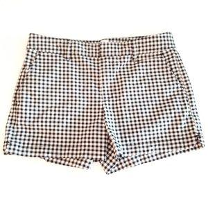 GAP Gingham cotton shorts